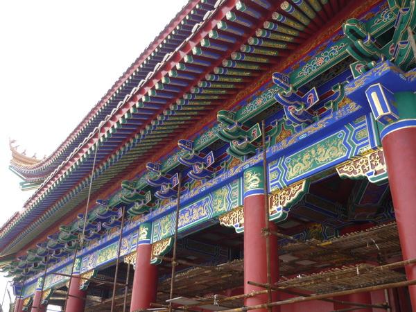 寺庙壁画#龙岩壁画公司-沐强手绘墙绘