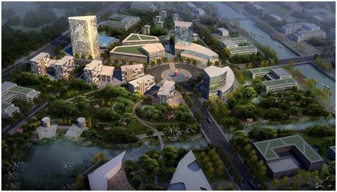 上海崇明岛智慧岛项目