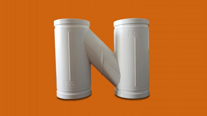 沟槽式防臭型H管件