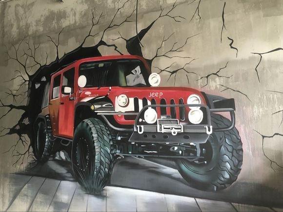 新疆幼儿园墙绘,新疆手绘墙,新疆手绘壁画,新疆彩绘,新疆墙体彩绘